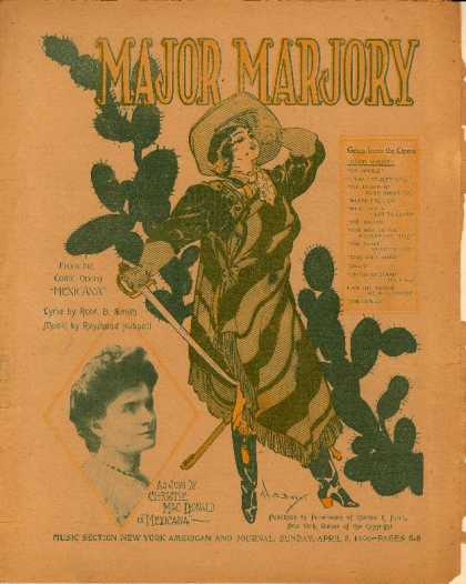 Sheet Music - Major Marjory; Mexicana