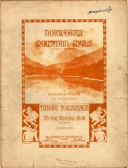 Sheet Music - To the rising sun; Morgenstimmung; Op. 4, no. 1