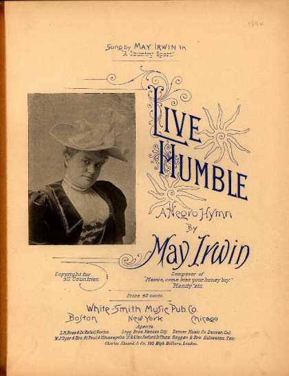 Sheet Music - Live humble; Negro hymn; Country sport