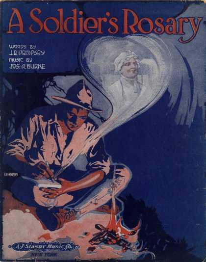 Sheet Music - A soldier's rosary