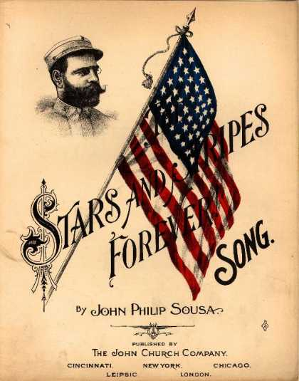 Sheet Music - Stars and stripes forever