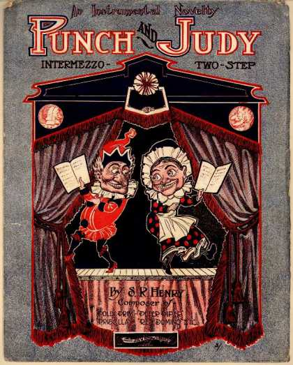 Sheet Music - Punch and Judy intermezzo two-step