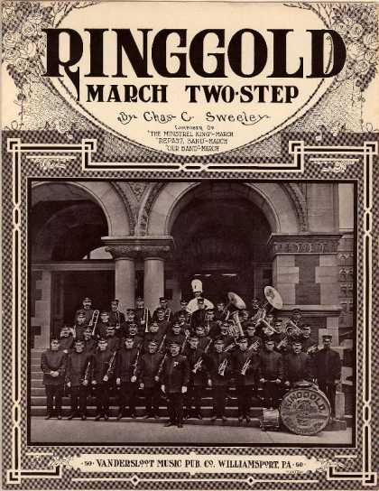 Sheet Music - Ringgold march two-step