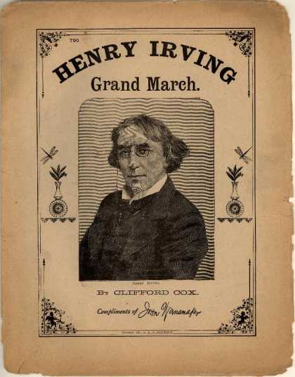 Sheet Music - Henry Irving grand march