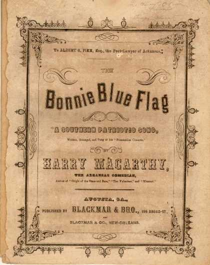 Sheet Music - Bonnie blue flag; A Southern patriotic song