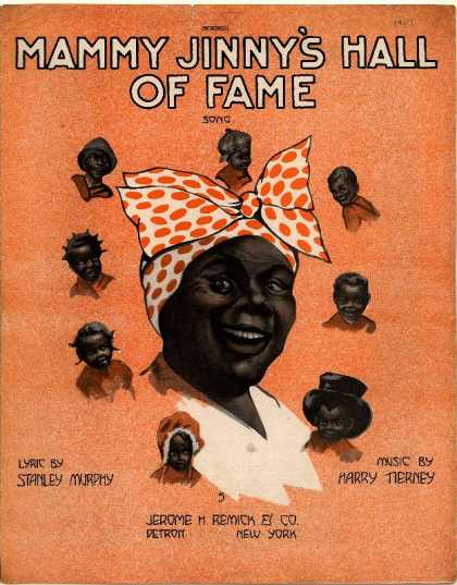 Sheet Music - Mammy Jinny's hall of fame