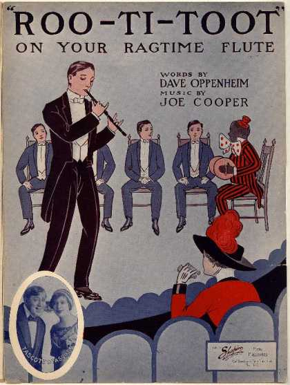 Sheet Music - Roo-ti-toot on your ragtime flute