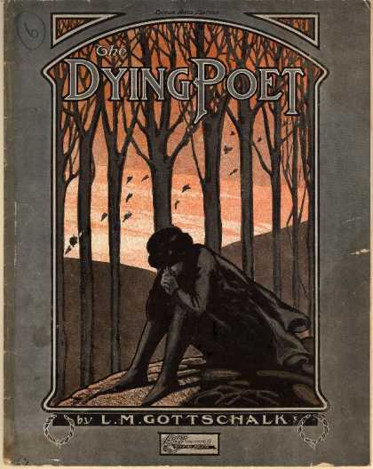Sheet Music - The dying poet