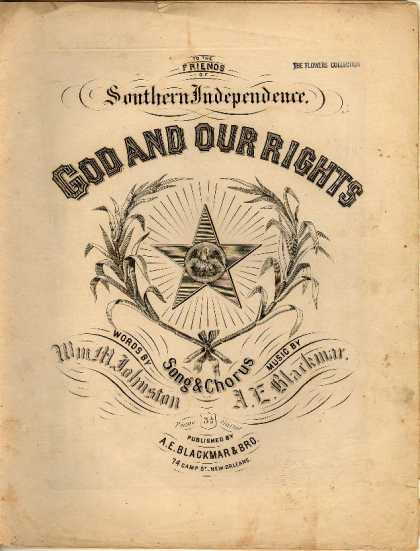 Sheet Music - God and our rights