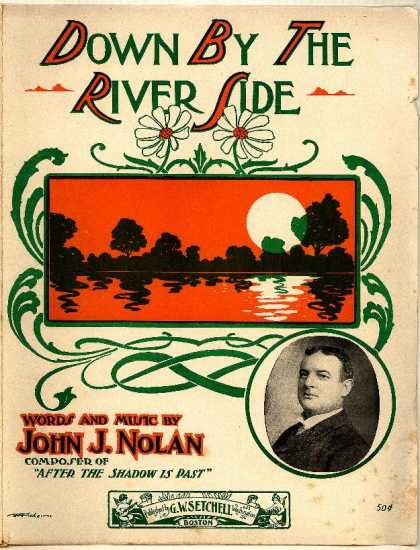 Sheet Music - Down by the river side