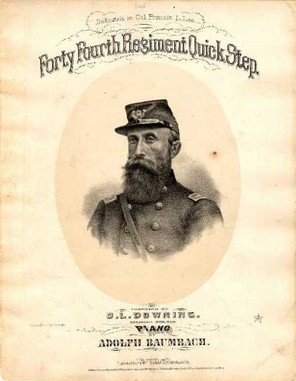 Sheet Music - Forty Fourth Regiment quick step; 44th regimental quickstep