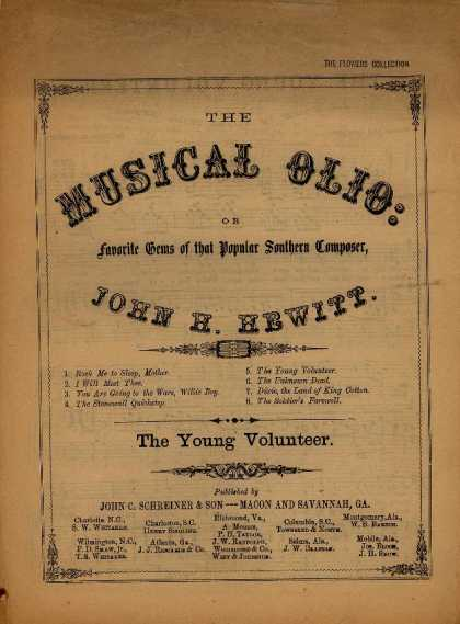 Sheet Music - The young volunteer