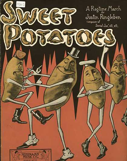 Sheet Music - Sweet potatoes