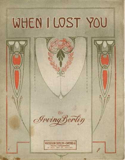 Sheet Music - When I lost you