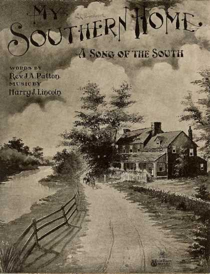 Sheet Music - My Southern home; A song of the South