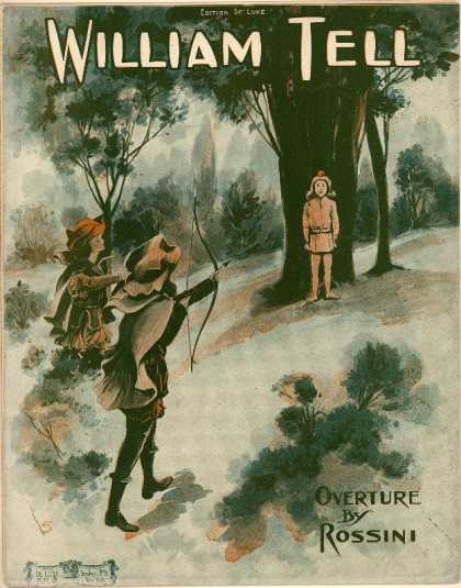 Sheet Music - William Tell overture