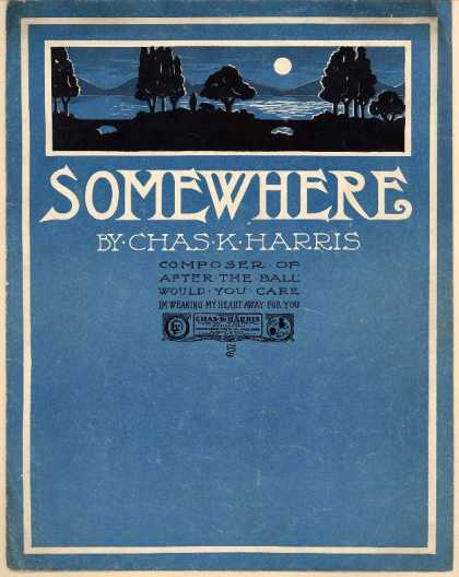 Sheet Music - Somewhere