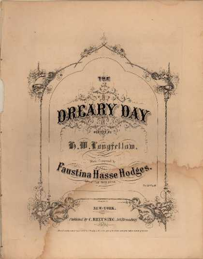 Sheet Music - Dreary day
