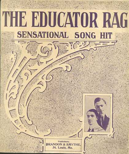 Sheet Music - The educator rag