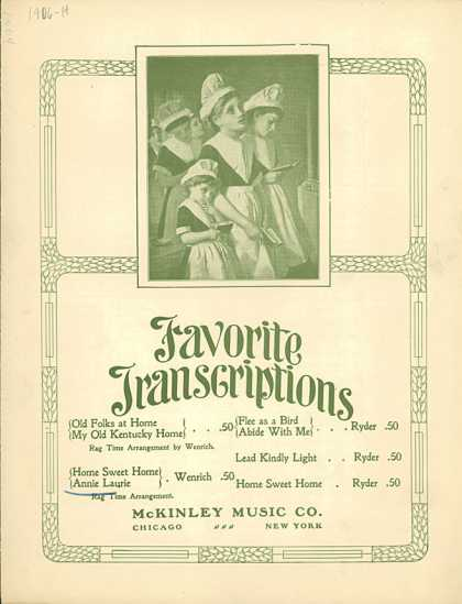 Sheet Music - Home, sweet home and Annie Laurie