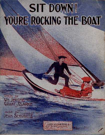 Sheet Music - Sit down! You're rocking the boat