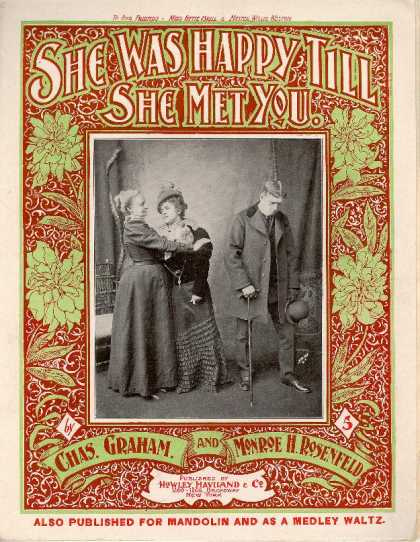Sheet Music - She was happy till she met you