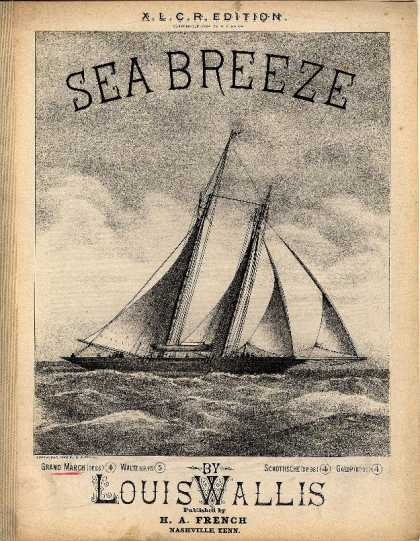 Sheet Music - Sea breeze; op. 96