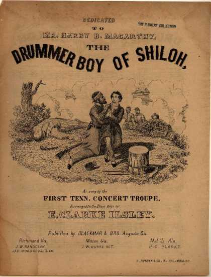 Sheet Music - The drummer boy of Shiloh