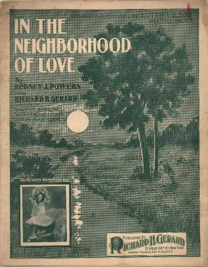 Sheet Music - In the neighborhood of love; Little magnet