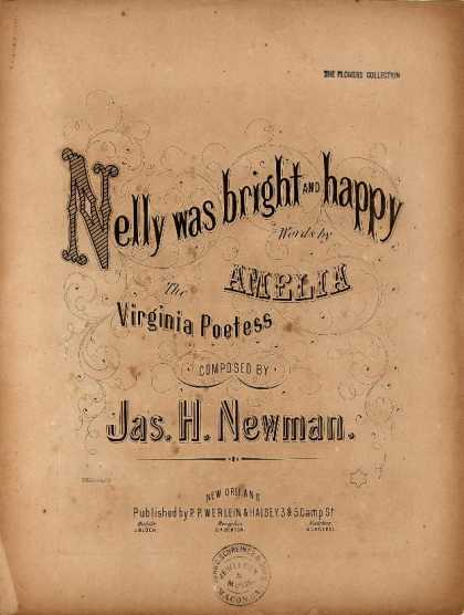 Sheet Music - Nelly was bright and happy