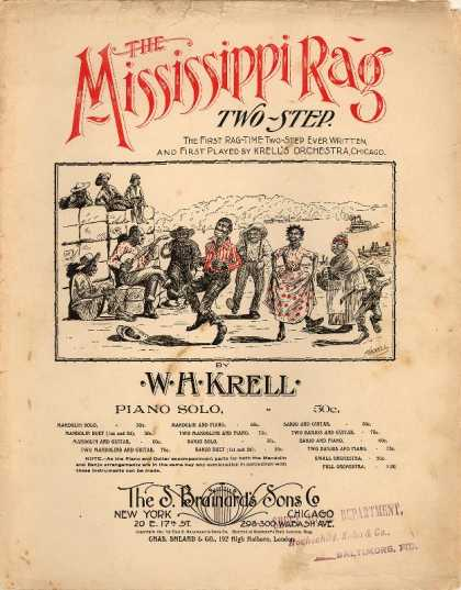 Sheet Music - Mississippi rag two-step