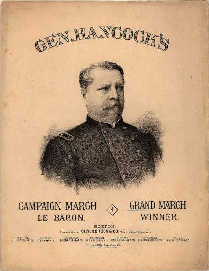 Sheet Music - Gen. Hancock's grand march
