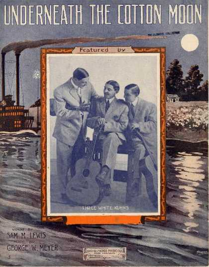 Sheet Music - Underneath the cotton moon