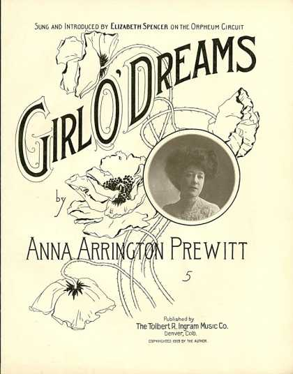 Sheet Music - Girl o' dreams