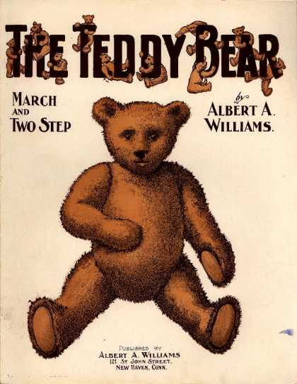 Sheet Music - Teddy bear; March and two step