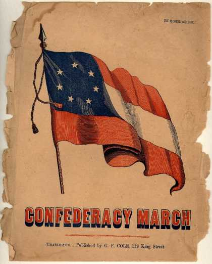 Sheet Music - Confederacy march