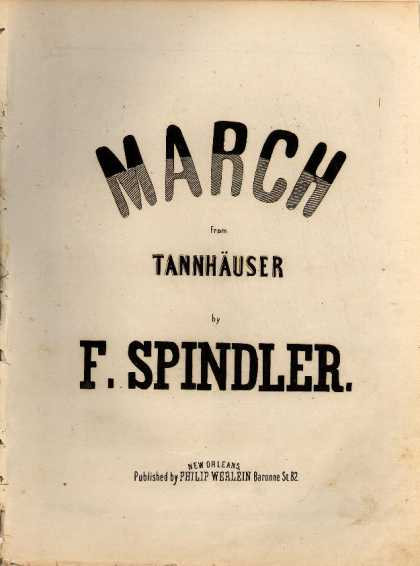Sheet Music - March from Tannhauser