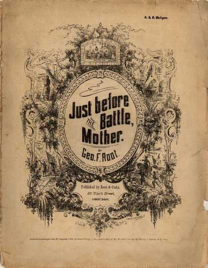 Sheet Music - Just before the battle mother