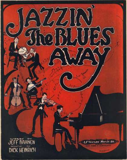 Sheet Music - Jazzin' the blues away