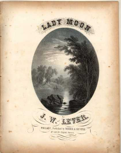 Sheet Music - Lady moon