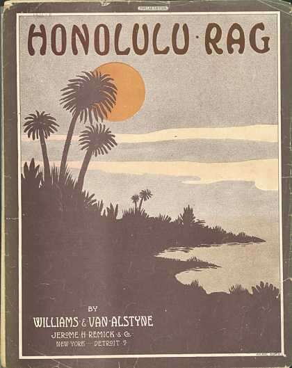 Sheet Music - The Honolulu rag