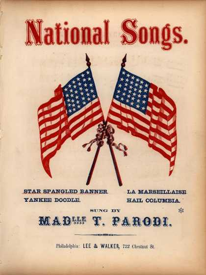 Sheet Music - Star spangled banner