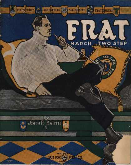 Sheet Music - Frat march two-step