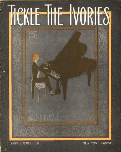 Sheet Music - Tickle the ivories
