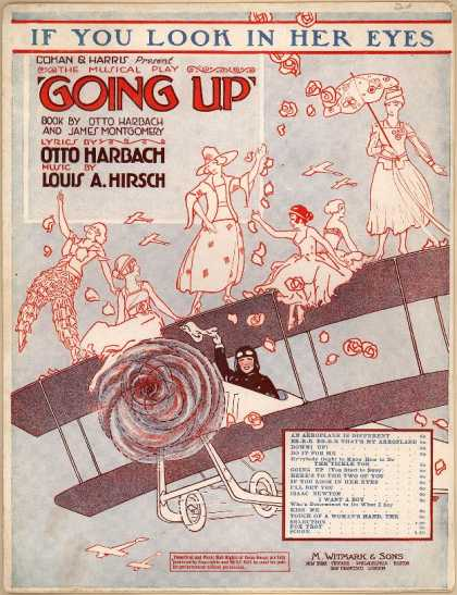 Sheet Music - If you look in her eyes; Going up