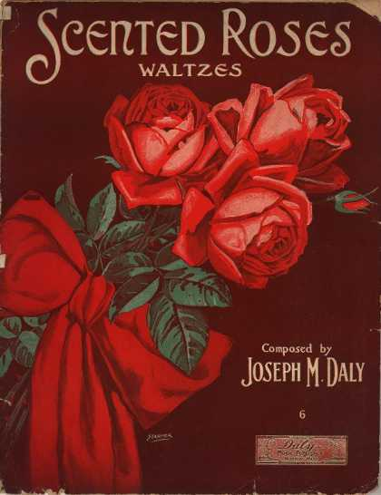 Sheet Music - Scented roses waltzes