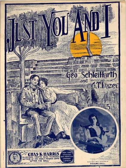 Sheet Music - Just you and I