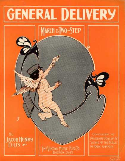 Sheet Music - General delivery march & two-step