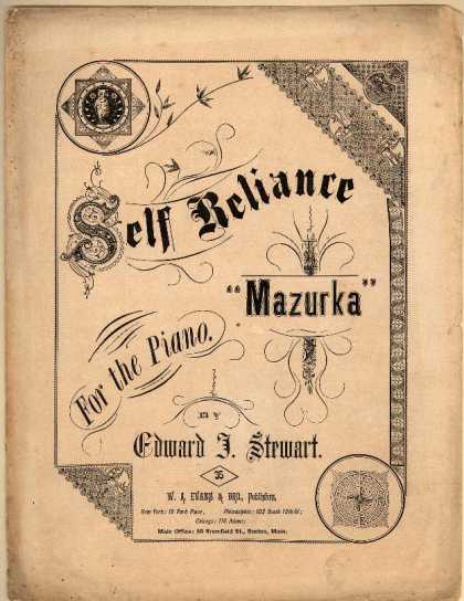 Sheet Music - Self reliance mazurka