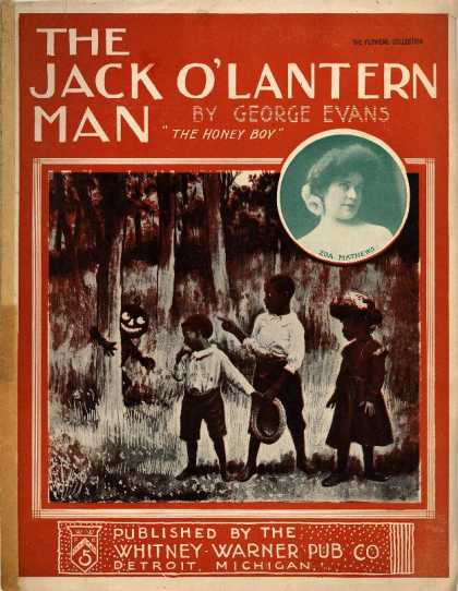 Sheet Music - Jack o'lantern man